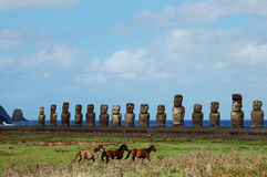 Easter Island - Chile Stock Images