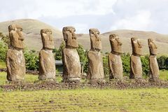 Easter island, Chile Royalty Free Stock Photo