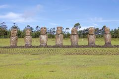 Easter island, Chile Stock Images