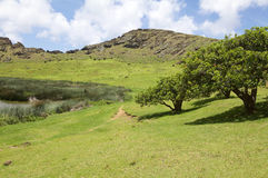 Easter Island, Chile stock image
