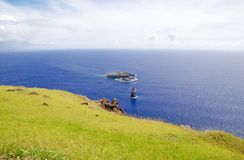 Easter island, Chile Stock Photos