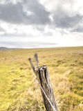 Easter Island Fence Royalty Free Stock Photos