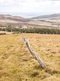Easter Island fences Stock Photography