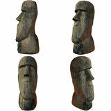 Easter Island Head Royalty Free Stock Photos