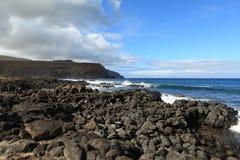 Easter Island Landscape Stock Images