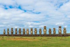 Easter Island Maoi Royalty Free Stock Photos