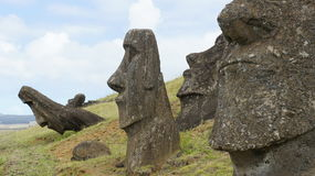 Easter Island Moai Royalty Free Stock Images