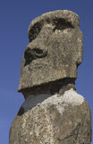 Easter Island - Moai - Chile. Ancient Moai on Easter Island (Rapa Nui) in the South Pacific Ocean Stock Image