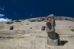 Easter Island Moai Heads Royalty Free Stock Photos