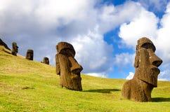 Easter Island Moai Stock Image