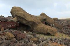 Easter Island Moai Statue. Moai Statue at Easter Island Stock Photography