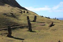 Easter Island Moai Statue. Moai Statue at Easter Island Royalty Free Stock Image