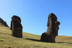 Easter Island Moai Statue Royalty Free Stock Images