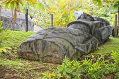 Easter island moai Royalty Free Stock Photos