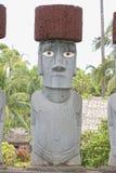 Easter island moai. Stone statue Stock Photography