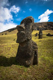 Easter Island Moai Royalty Free Stock Photography