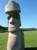 Easter Island Replica 2 Stock Image