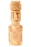 Easter island statue figurine Royalty Free Stock Photography
