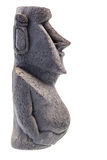 Easter island statue profile Stock Photography