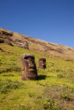 Easter Island Statues Stock Photos
