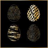 easter jajek cztery set Zdjęcie Royalty Free