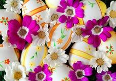 easter jajek kwiatów wiosna Zdjęcia Stock