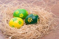 easter jajek ręka malował Obraz Royalty Free