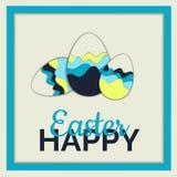 easter jajek szczęśliwa ilustracja zdjęcie royalty free