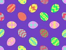 easter jajek wz?r bezszwowy Wielkanoc t?a szcz??liwy 3d amerykanina karty kolor?w wybuchu flaga powitania wakacje pisze list obyw ilustracji
