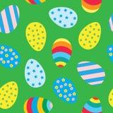 easter jajka deseniują bezszwowego Obrazy Stock
