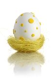easter jajka gniazdeczko obraz stock