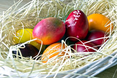 easter jajka malowali Obrazy Stock