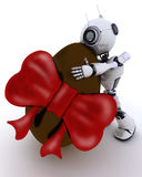 easter jajka robot ilustracja wektor