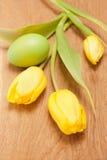 easter jajka tulipany Obraz Royalty Free