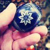 easter jajka wizerunek robić Artystyczny spojrzenie w roczników żywych colours fotografia royalty free