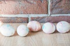 easter jajka wizerunek robić Marmurowa skorupa wielkanoc szczęśliwy Naturalny barwidło Wiosna wakacje przygotowanie malowane jajk zdjęcie royalty free