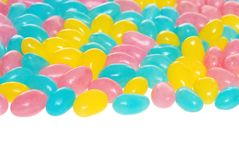 Easter jelly beans Stock Photography