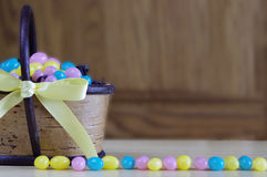 Easter jelly beans Stock Photo
