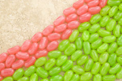 Easter Jellybean Background Royalty Free Stock Photos