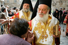 easter jerusalem Royaltyfria Bilder