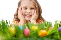 Easter joy Royalty Free Stock Photos