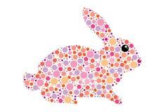 easter kanin stock illustrationer