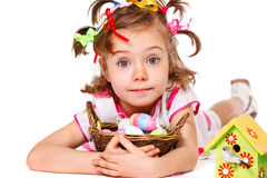 Easter kid Royalty Free Stock Photo