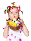 Easter kid Royalty Free Stock Photos