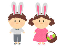 Easter kids Royalty Free Stock Photo