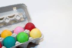 Easter kolorowi jajka Zdjęcie Stock