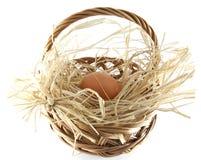 easter koszykowy jajko Zdjęcia Royalty Free