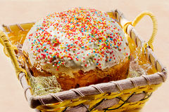 Easter kulich Stock Images