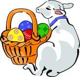 Easter lamb Stock Image