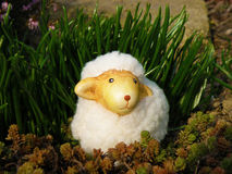 Easter lamb. The easter-time is comming... easter lamb Stock Image